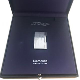 S.T.Dupont Diamond Drops Limited Edition Line 2 lighter