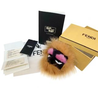 Fendi Mink/Fox/Rabbit Fur Honeyfur Monster Bag Bug