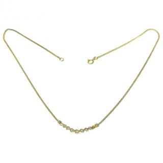 Bespoke Gold 0.40ct Diamond Necklace