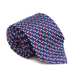 Turnbull & Asser Silk Spotted Tie