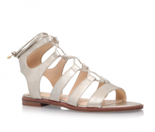 Vince Camuto Tany Gold Flat Sandals