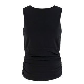 Gucci Black Fitted Sleeveless Top