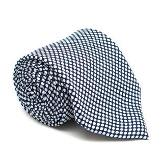 Viola Milano Navy White Spotted Tie