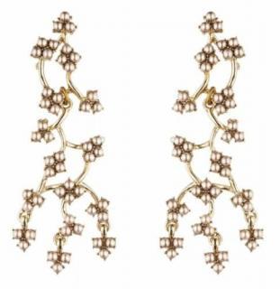 Lulu Frost Ivory Pearl Jackie Drop Earrings