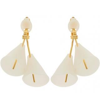 Lele Sadoughi Calla Lily Clip-On Earrings