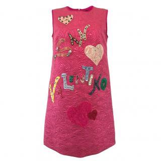 Dolce & Gabbana San Valentino Embellished Dress