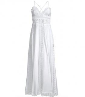 0e6a8a9d8b Charo Ruiz Ibiza white crochet maxi dress