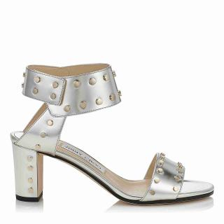 Jimmy Choo Metallica Veto Sandals