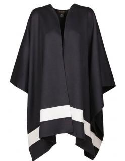Loro Piana Park Lane Bi-Colour Cashmere Cape