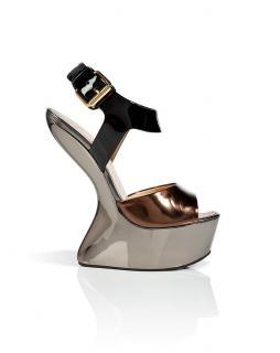 Giuseppe Zanotti curved-platform wedge sandals