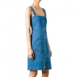 Stella McCartney Denim Pinafore Dress