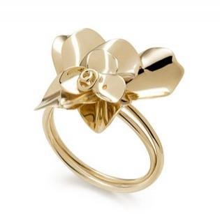 H Stern 18kt yellow gold Natur Ring