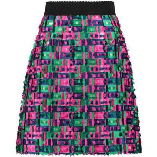 Dolce & Gabbana Fil Coupe A-Line Skirt