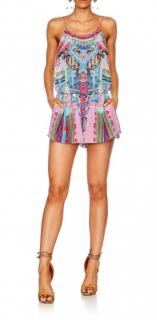 Camilla Festival Friends Shoestring Silk Playsuit