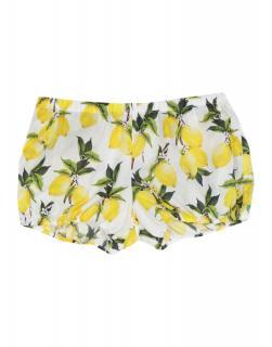 Dolce & Gabbana Girl's Lemon Print Bloomers