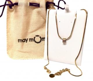 May Moma gemstone-pendant necklace
