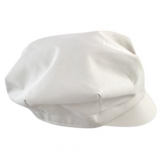 Burberry beige flat cap