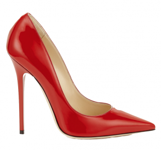 Jimmy Choo Red Patent Leather Pumps