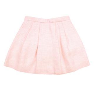 =Bonpoint Girls 6Y Pink Metallic Skirt