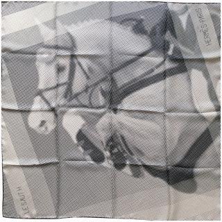 Hermes Le Saut H by Cyrille Diatkine Silk Scarf 90