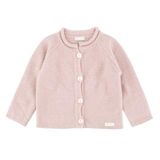 Nanan Girls 12M Pink Knit Cardigan