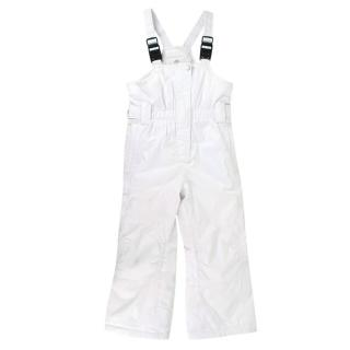 Poivre Blanc Girls 5Y White Ski Trousers