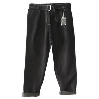 Max & Co Wide leg denim pants