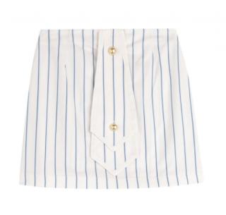 J.W. Anderson Nautical Striped Mini Skirt