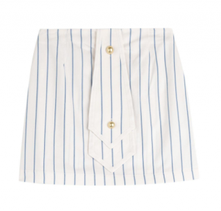 J.W. Anderson Nautical Striped Mini Skirt