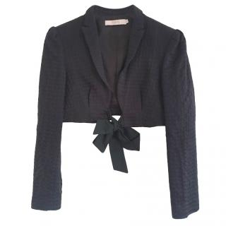Red Valentino Black Cropped Jacket