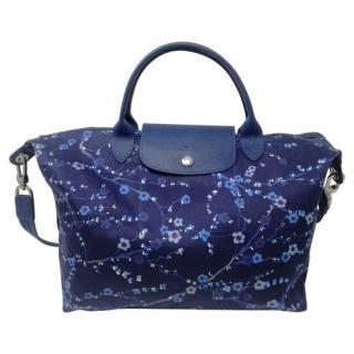 Longchamp Le Pliage Floral Tote Bag