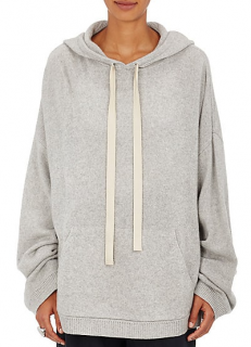 87f0603ee3 Robert Rodriguez Stockinette-Stitched Wool-Cashmere Cutout Hoodie