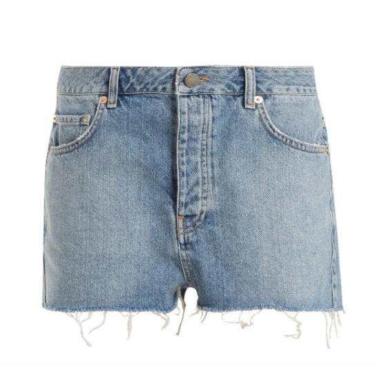 Raey Denim Hawaii Shorts