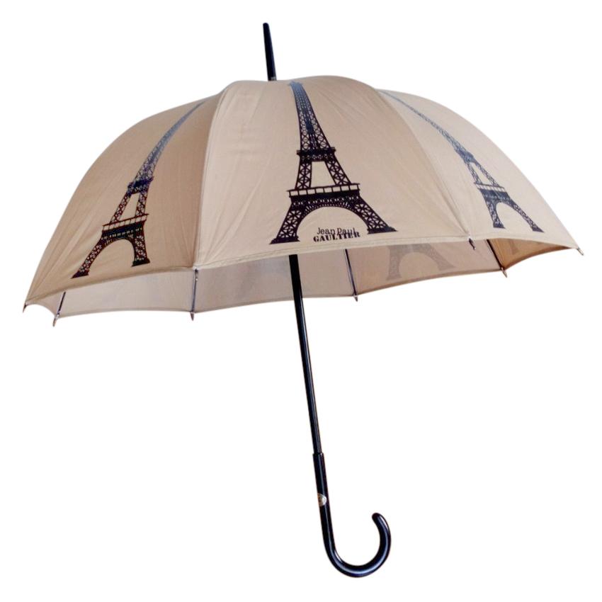 Jean Paul Gaultier Eiffel Tower-print umbrella