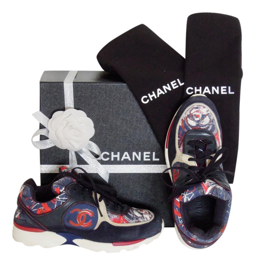 Chanel Limited Edition Graffiti Cc