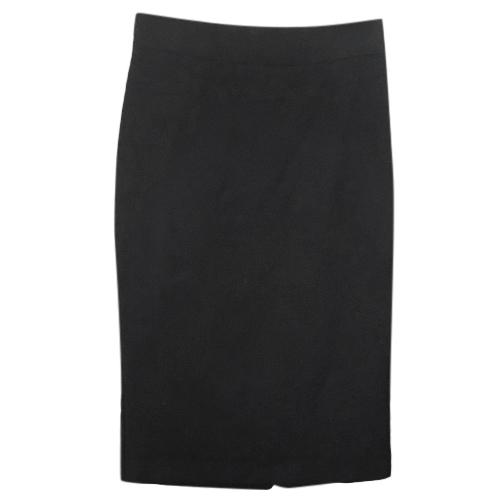 Red Valentino Black Pencil Skirt