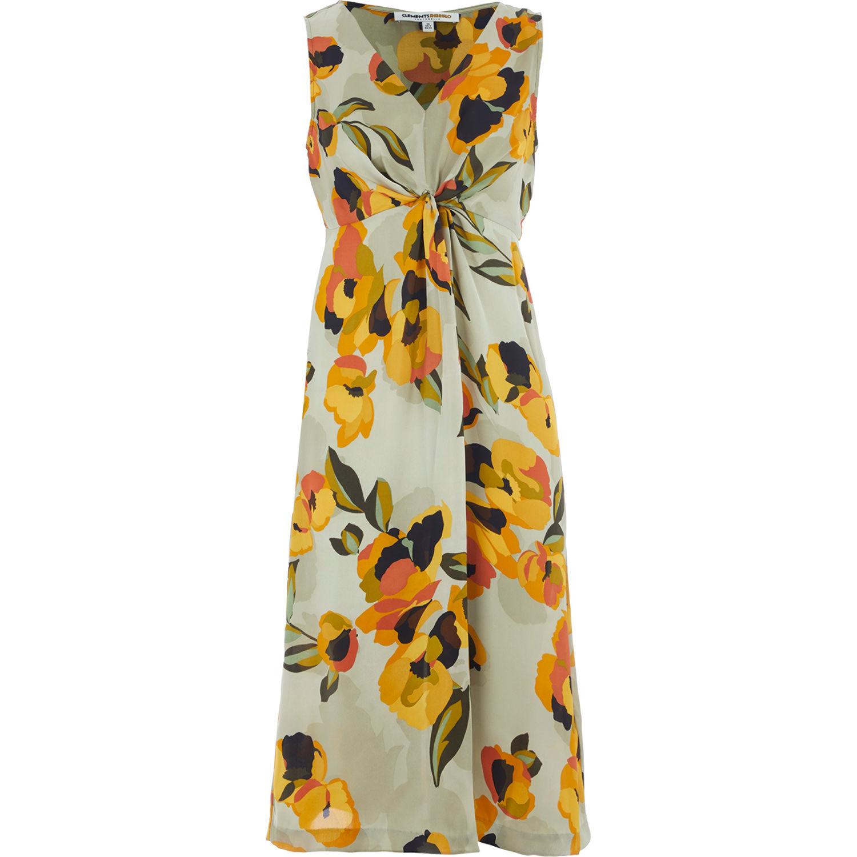 Clements Ribeiro Floral Print Dress