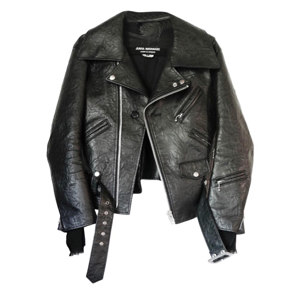 Comme Des Garcons Black Biker Jacket