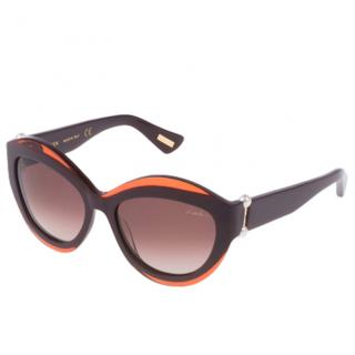Lanvin Cat Eye SLN677S Sunglasses