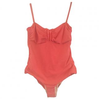 Hateia French Riviera Ruffled Swimsuit