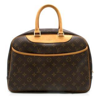 Louis Vuitton Brown Monogram Deauville Bag