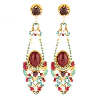 Satellite Gabriella Embellished Chandelier Earrings
