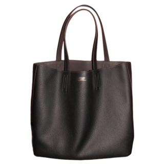 Hermes Black & Olive Green Reversible Double Sens Tote