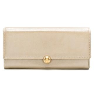 Christian Dior Shimmery Leather Bi-Fold Wallet