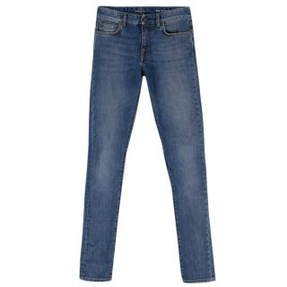 Saint Laurent Low Rise Skinny Jeans