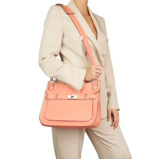 Hermes Togo Leather Crevette 31cm Jypsiere Bag