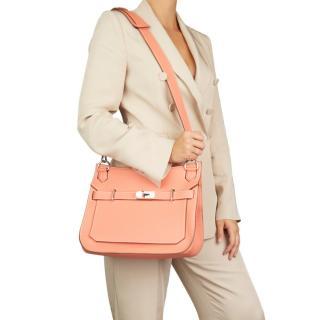 Hermes Togo Leather Crevette 31cm Jypsiere Bag