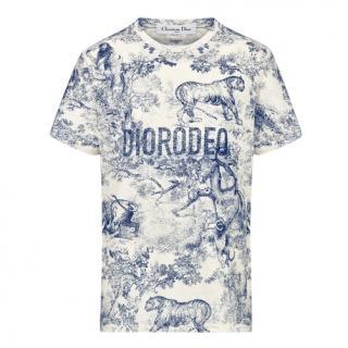 Christian Dior Crew Neck DIORODEO T-Shirt