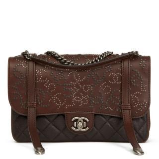 Chanel Paris-Dallas Studded Messenger Bag