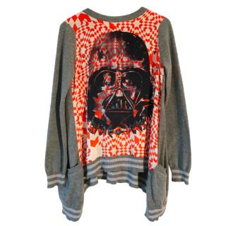 Preen By Thornton Bregazzi Vader Hoth Print Jumper